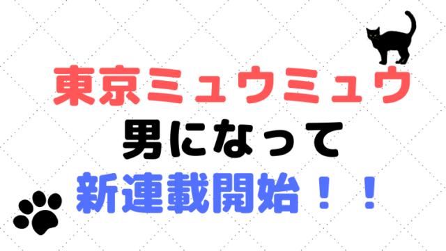 東京ミュウミュウが男版で【なかよし】に帰ってきた?!キッシュの今現在